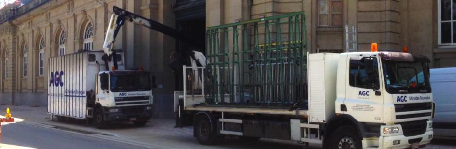 Plaatsingsdienst - Plaatsing met kraanwagen