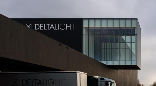 Delta Light (Moorsele) - Thermobel dubbel glas in gevelwandprofielen.