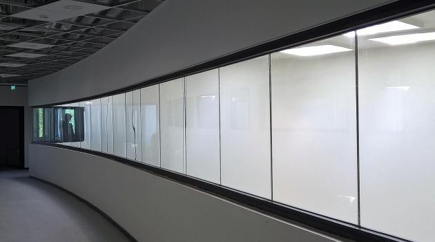 Bernarduscollege (Oudenaarde) - Pyrobel Vision Line in verstek geslepen
